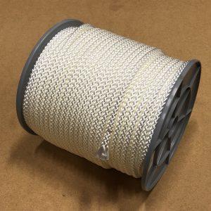 Wit gevlochten PPMF (nylon)